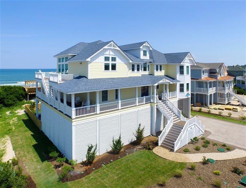 630 Blue Beacon Vacation Rentals Corolla House Rental Oceanfront Vacation Rentals Outer Banks Vacation Rentals