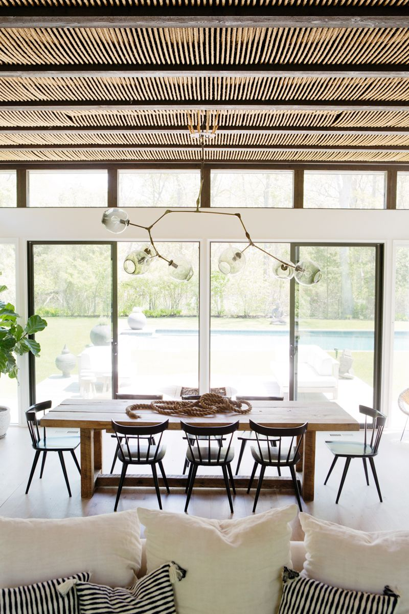 Inside athena calderone   bright hamptons home also spaces  edining rh pinterest