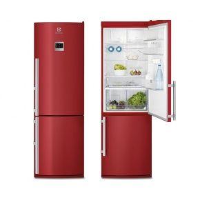 Good Electrolux EN3487AOH Frost Free Fridge Freezer In Red Good Ideas