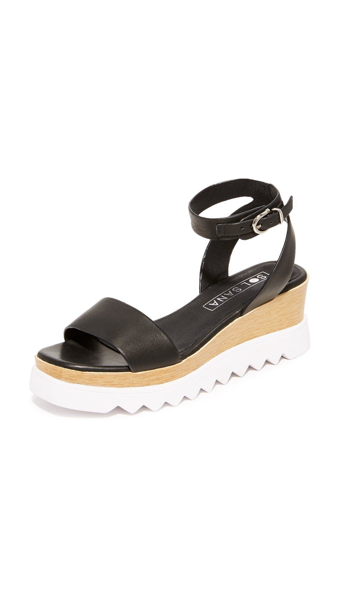 322642e9f0b Sol Sana Women s Tray Wedge Sandals