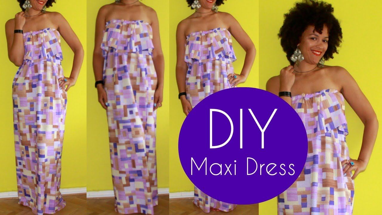 diy summer clothes diy cute maxi dress sewing for