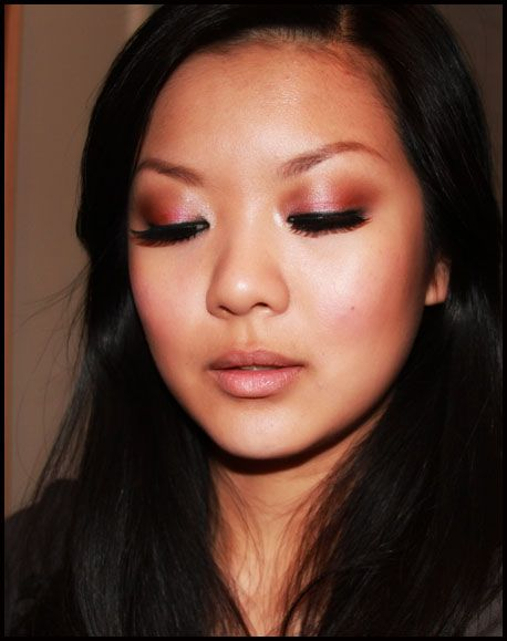 Emily's Anthology - a Malaysian beauty blogger living life between KL and Melbourne: Makeup Tutorial: Red Smoky Eye for Chinese New Year!