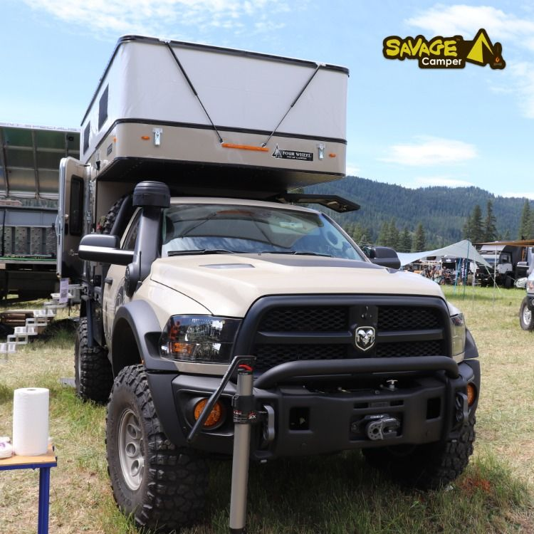 Baja Runner Truck Camper Build By Mule Expedition Outfitters