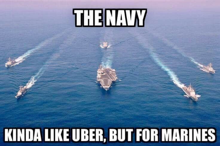 Funny Uber Memes : Navy uber for marines military meme war pinterest marines