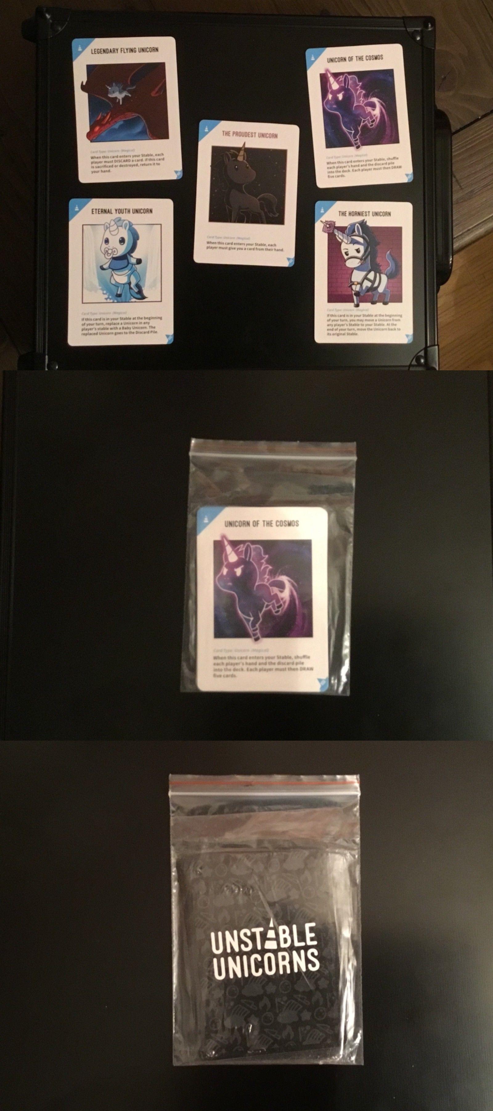 Card Games And Poker 180350 Unstable Unicorns 5 Kickstarter