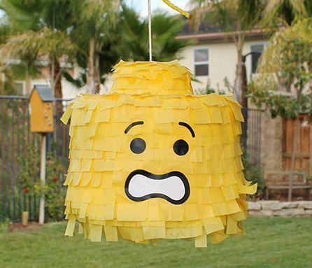 DIY Lego pinata! | Party Ideas | Pinterest | Lego pinata, Lego movie ...