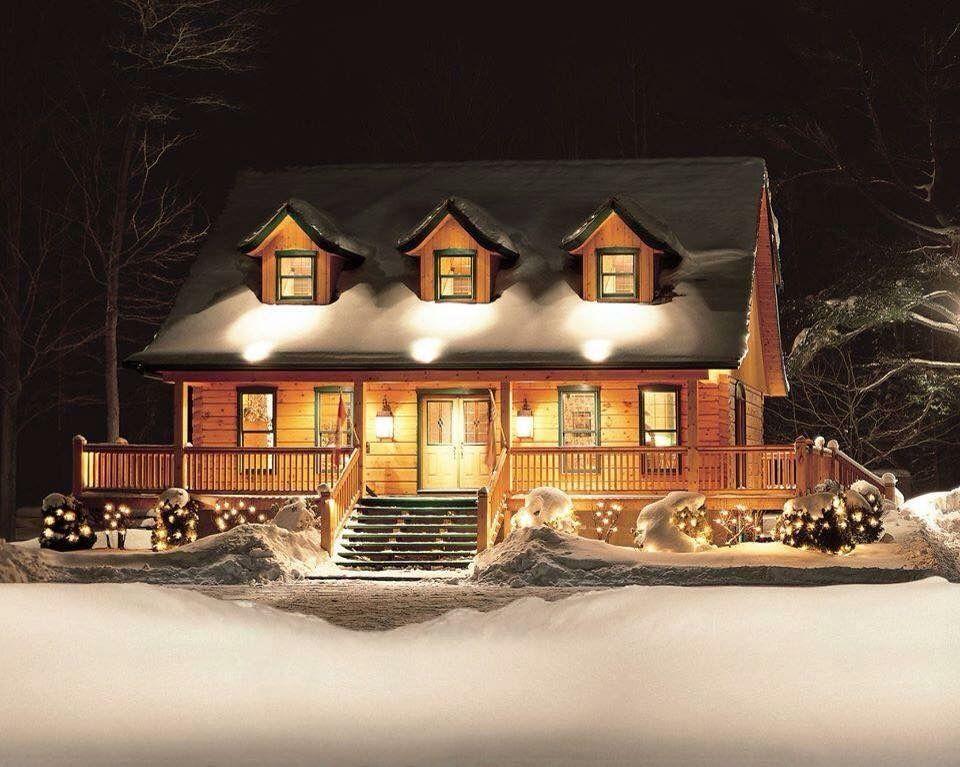 Judy's cabin.