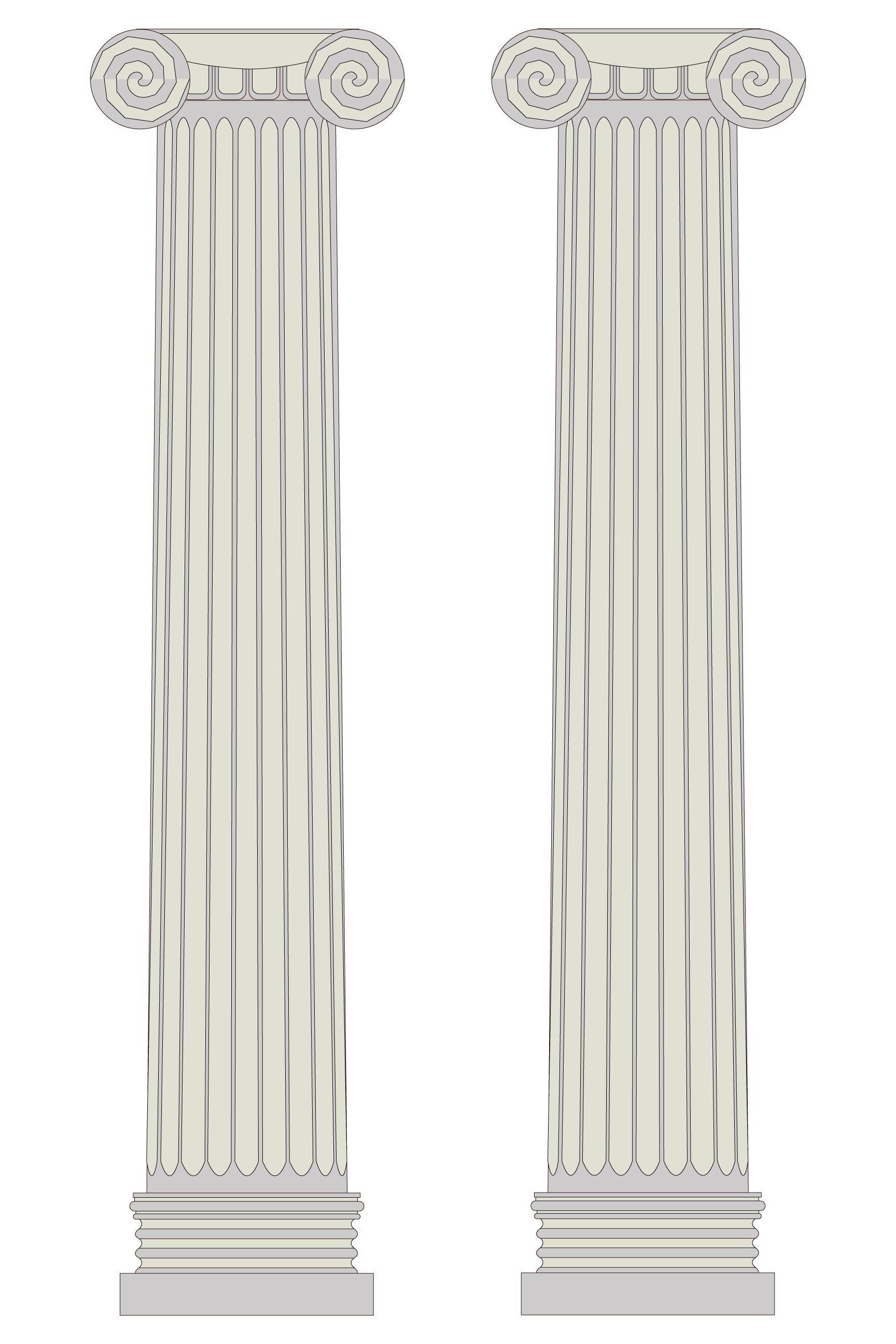 Картинки колонны на прозрачном фоне