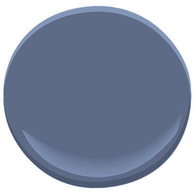 Benjamin Moore Blue Heron 832 A Deep Rich Color Paint