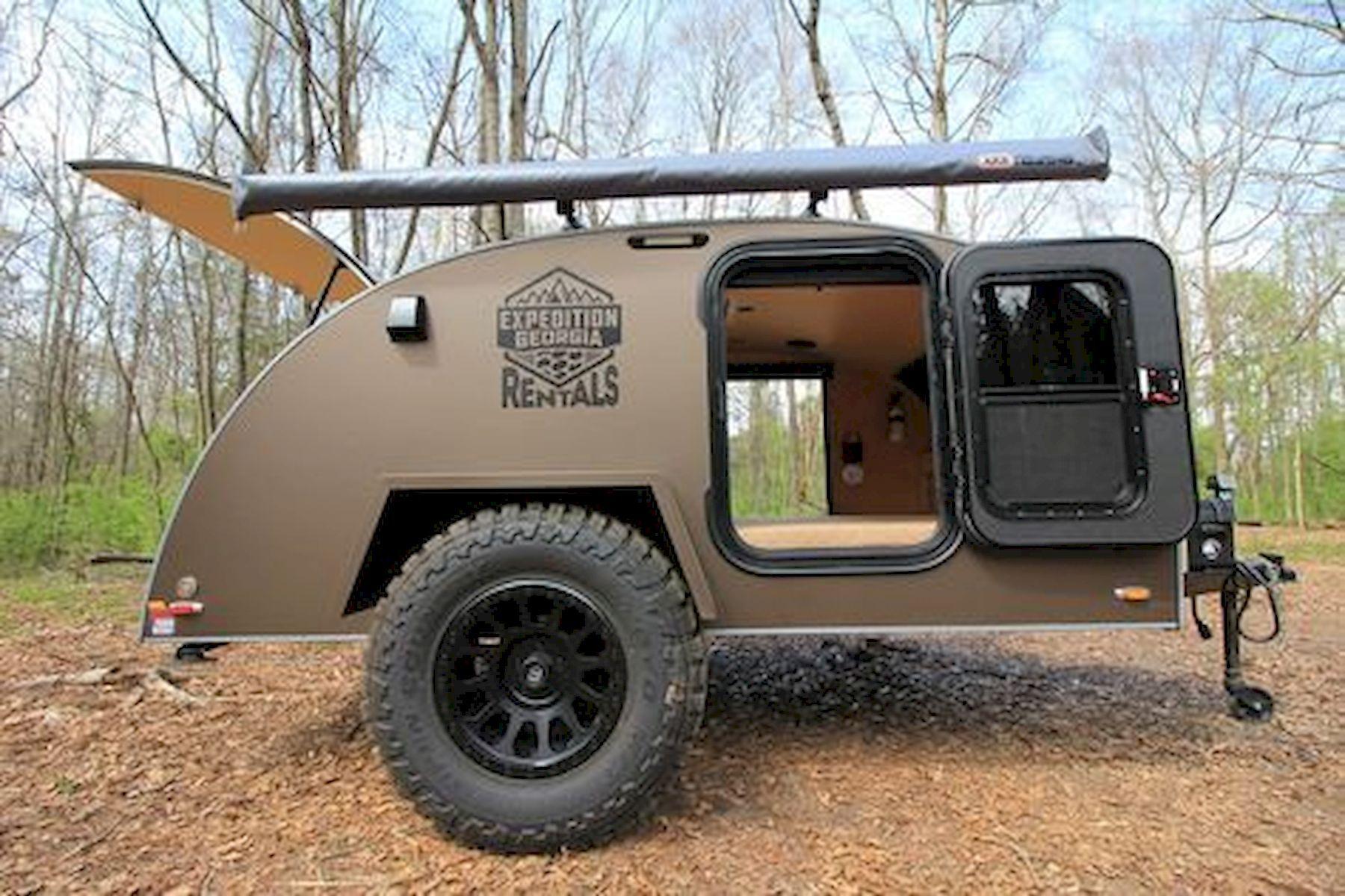 40 stunning diy camper trailer design diy camper