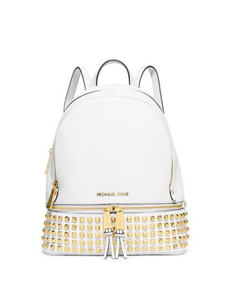 6fd7a5ed868d8 Rhea+Small+Studded+Leather+Backpack