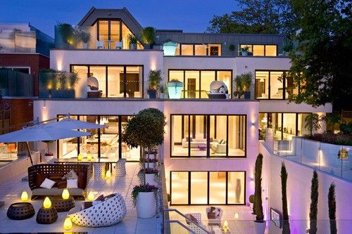 Windows Everywhere Mansions Dream Home Design Mansions Luxury