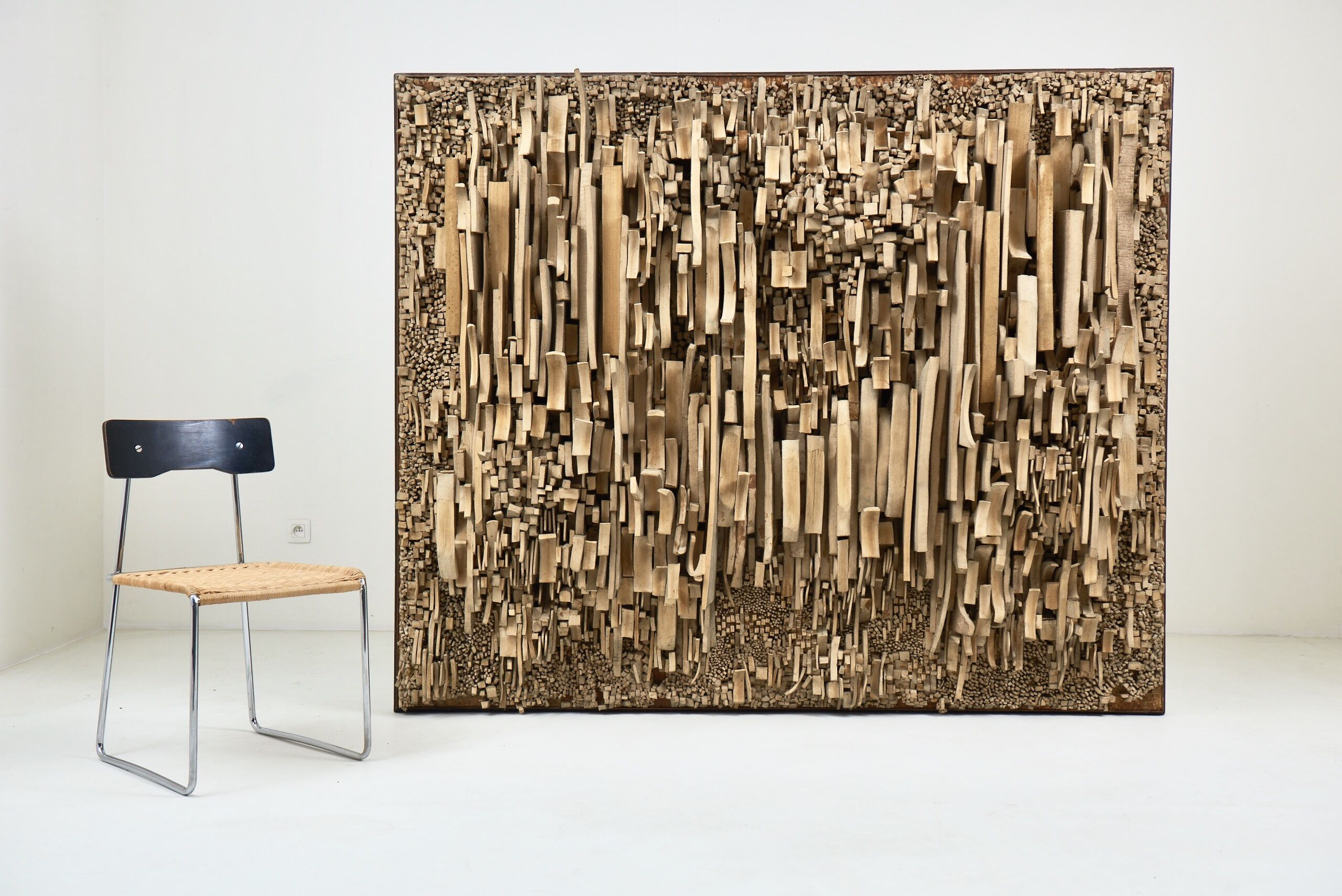 Andre Bogaert Monumental Assemblage 1969 Design Art Vintage Designs Art Gallery