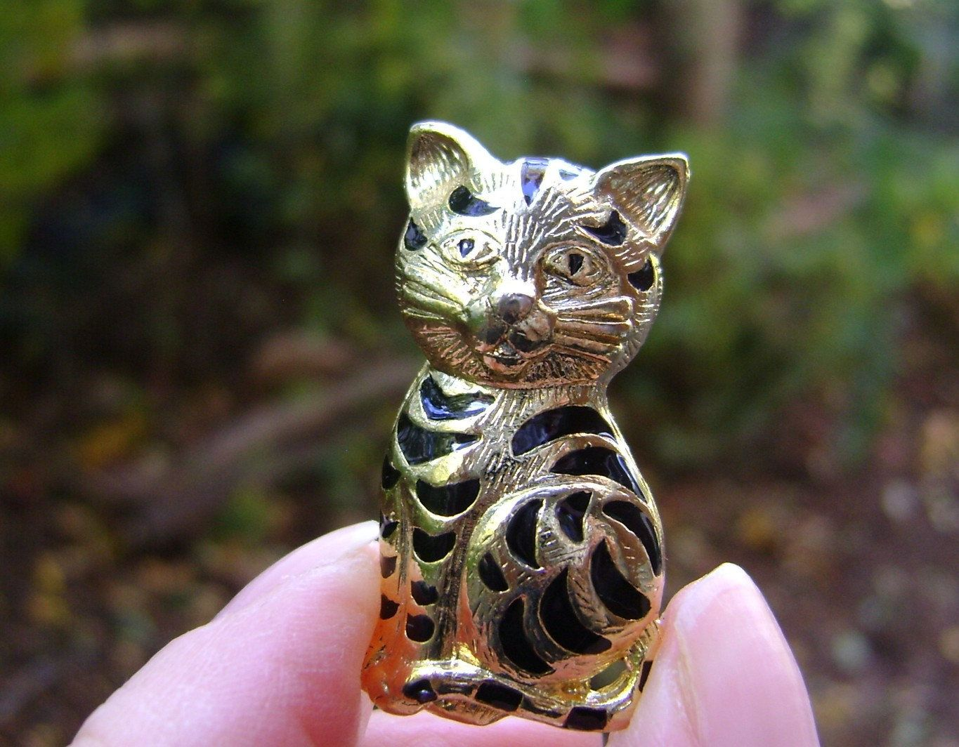 Tiger Vintage Brooch Striped Cat Wild Cat Retro Pin Jewelry Christmas Charm Kitten Cat Lovers Feline Birthday Gifts With Images Tiger Striped Cat Striped Cat Cats And Kittens