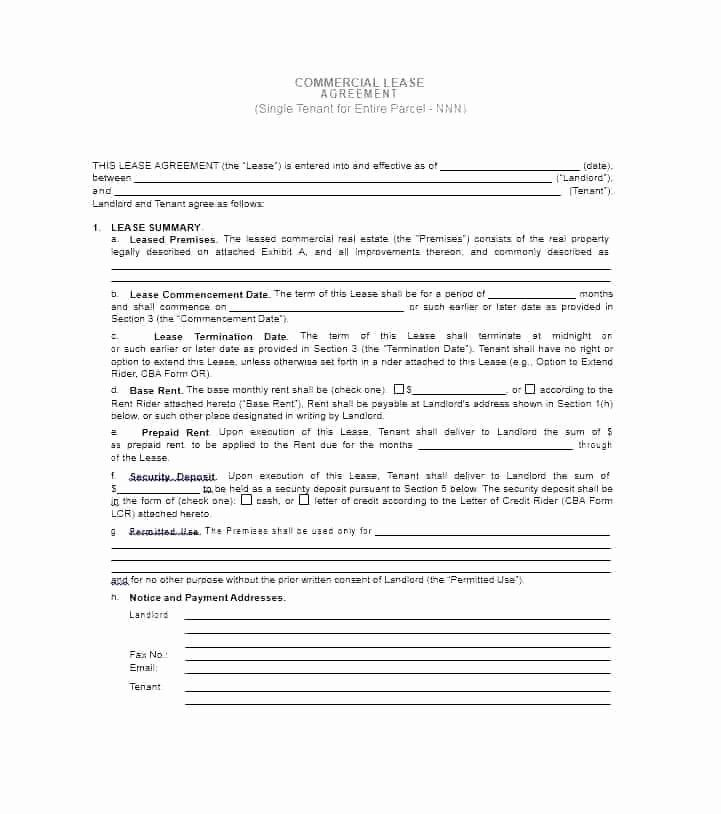 50 elegant commercial real estate contract template in