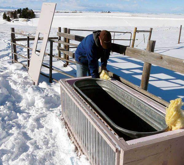 Build A Solar Stock Tank Diy Horse Water Horse
