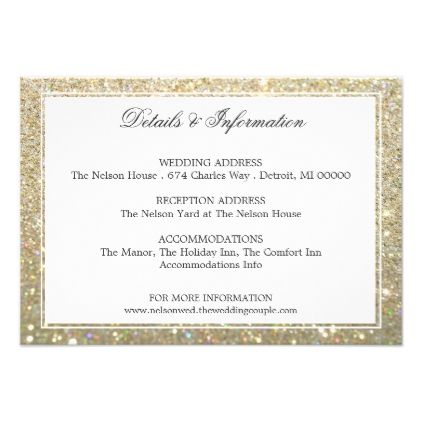 Details More Information Gold Glit Fab Card Wedding Invitations Cards Custom Invitation
