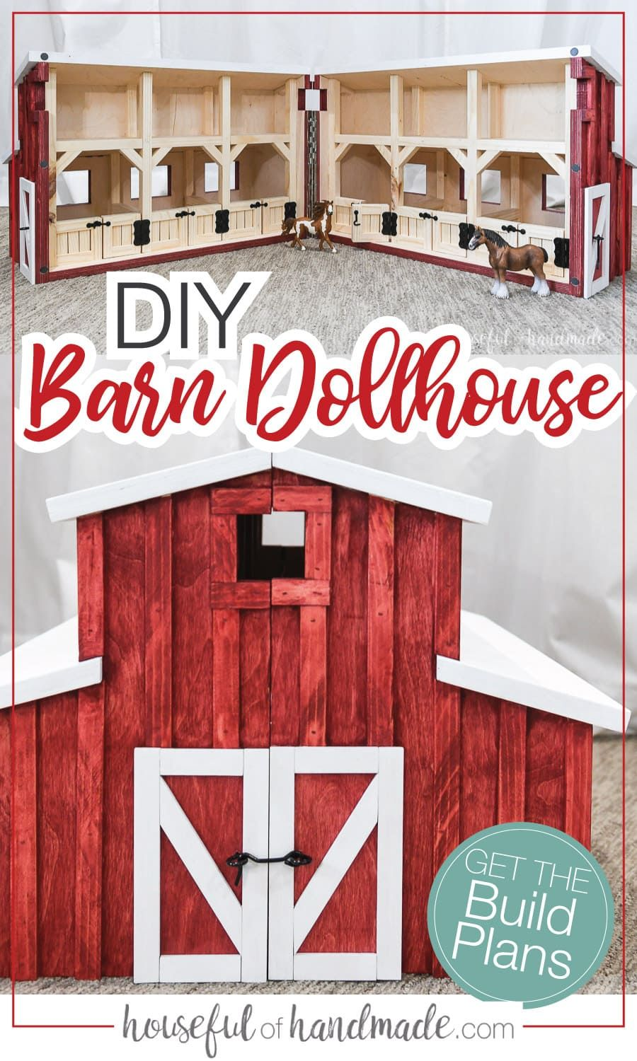 Wooden Toy Barn Build Plans