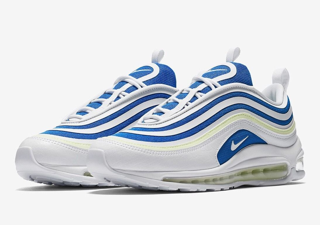 Nike air max 97 rainforest white team orange   Sneakers nike