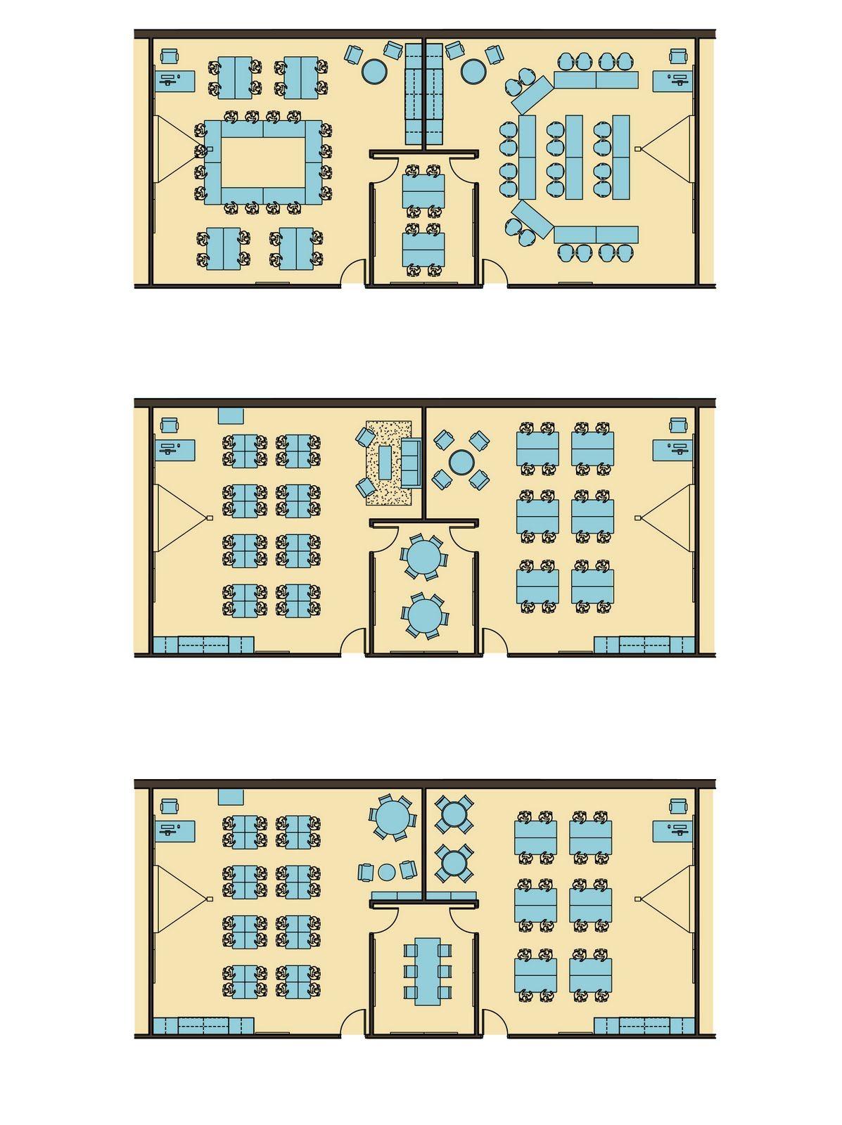 Bedford High School Classroom Layout Options Classroom