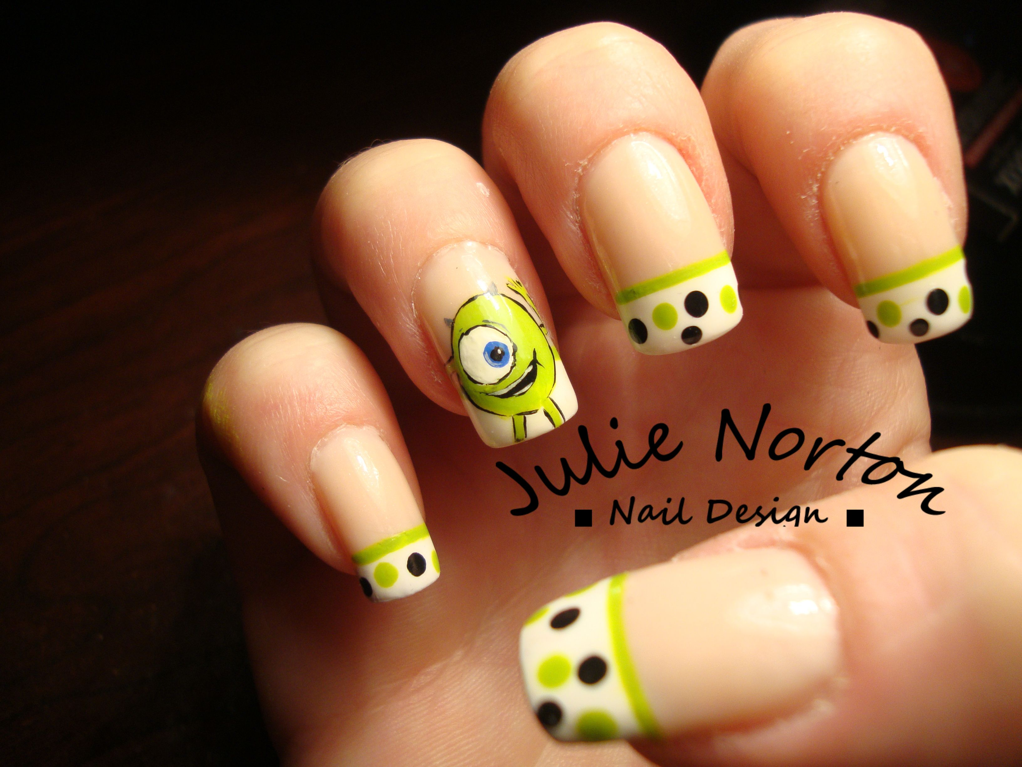 Monsters Inc - Mike Nails @Bianca Rios