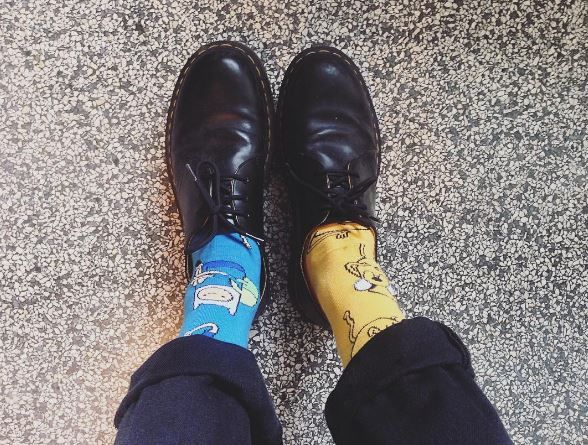 DOC'S & SOCKS: The Bex 1461 shoe, worn by smktgg. | PIED