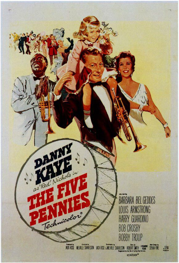 Image result for the five pennies 1959