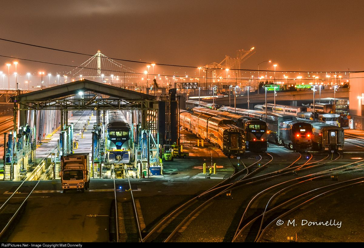 RailPictures.Net Photo: Amtrak EMD F59PHI at Oakland, California by ...