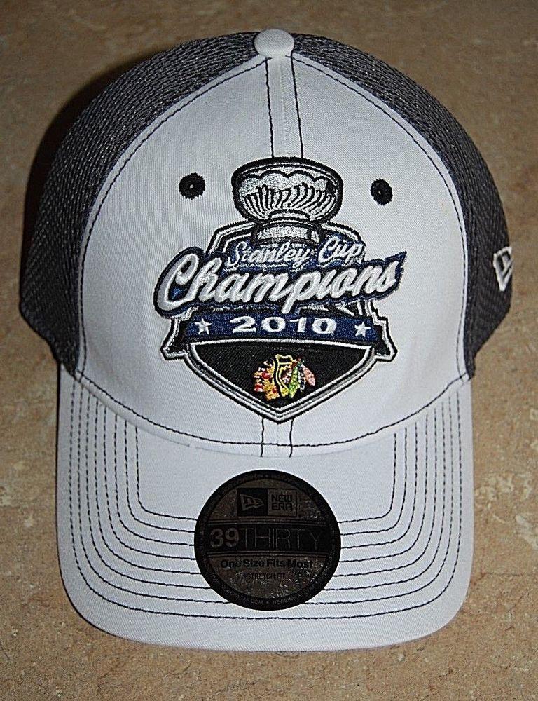 faa6d340174fe NEW Chicago Blackhawks 2010 Stanley Cup Champions Locker Room Hat One Size   NewEra  ChicagoBlackhawks