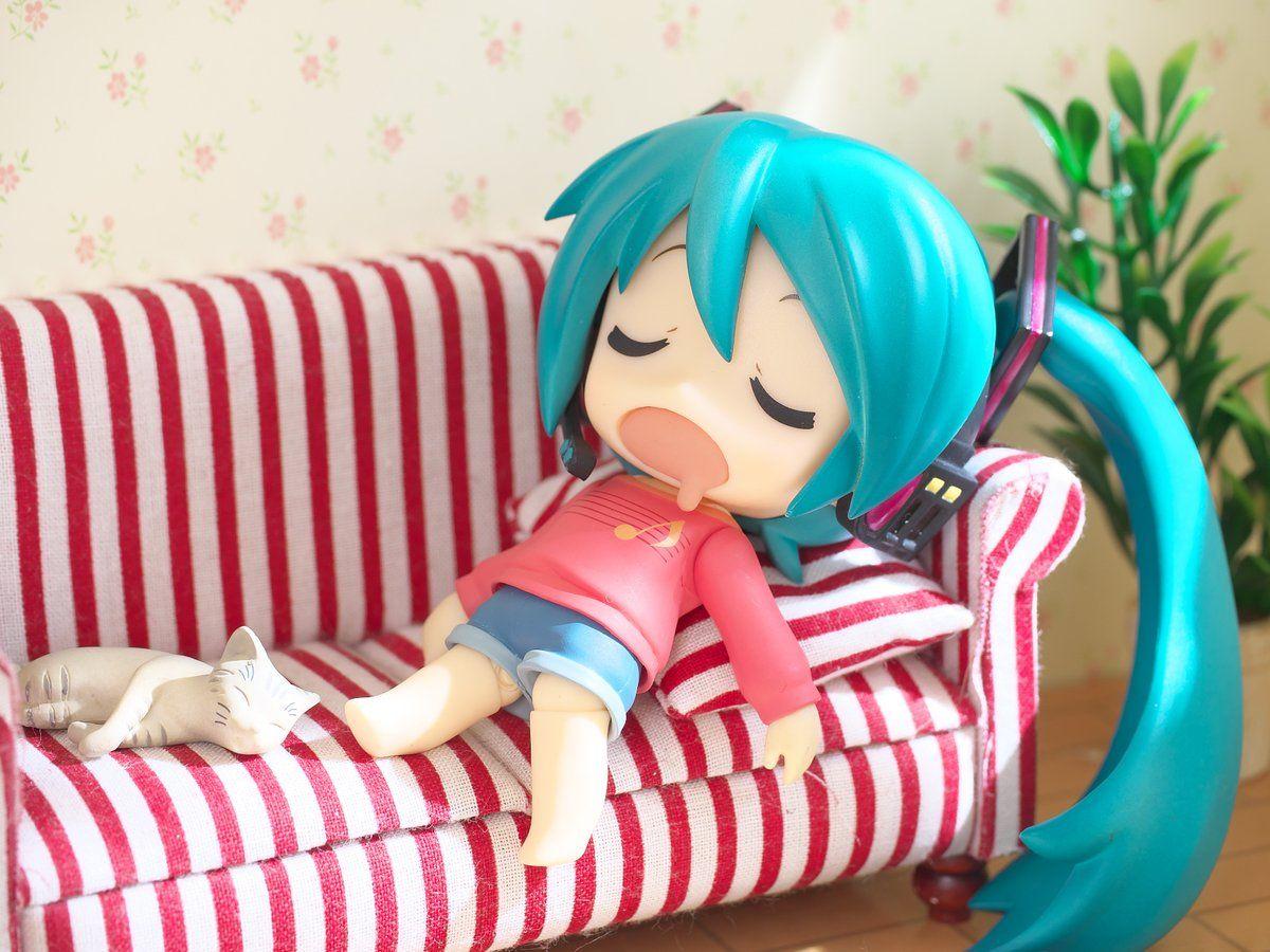 Collections Anime Jouets Hatsune Miku Figure Snow Figurines Statues 10cm
