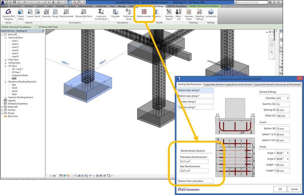 Bim For Reinforced Concrete It S In The Details Reinforced Concrete Building Information Modeling Concrete Structure