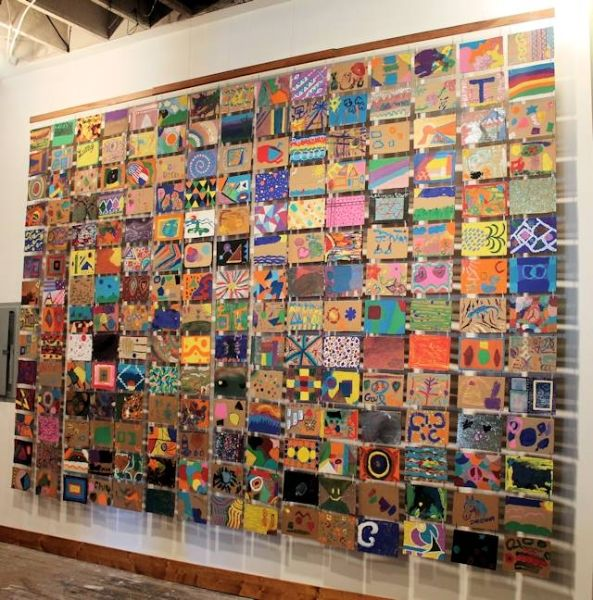 Collaborative Classroom Art Project ~ Community art projects google search library