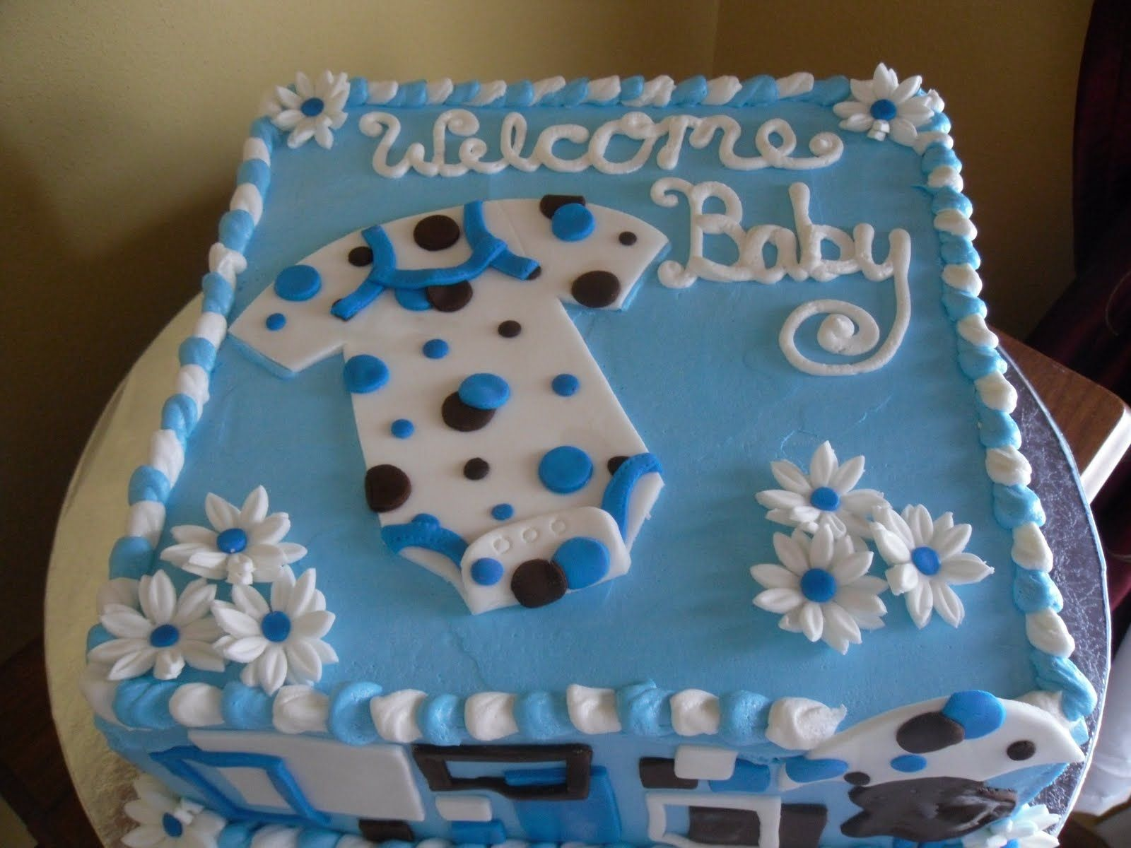 Cake · Boy Baby Shower Ideas ...