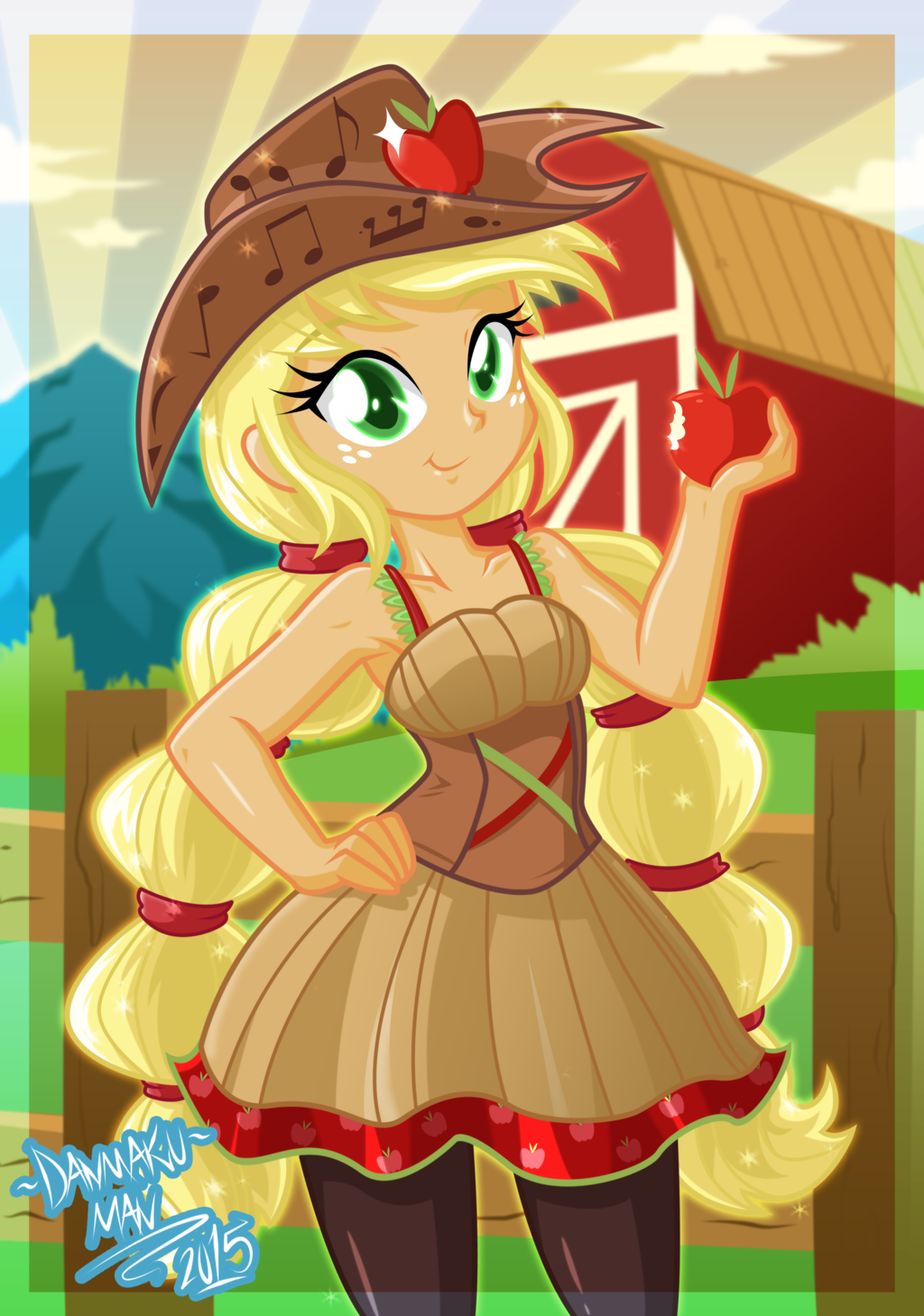 Friendship Through The Ages: Applejack by DANMAKUMAN.deviantart.com on @DeviantArt | MLP ...