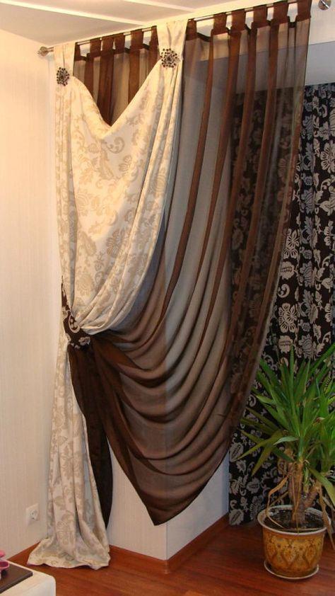 Pin de Natasha Ortiz en cortinas Pinterest Cortinas, Decoración