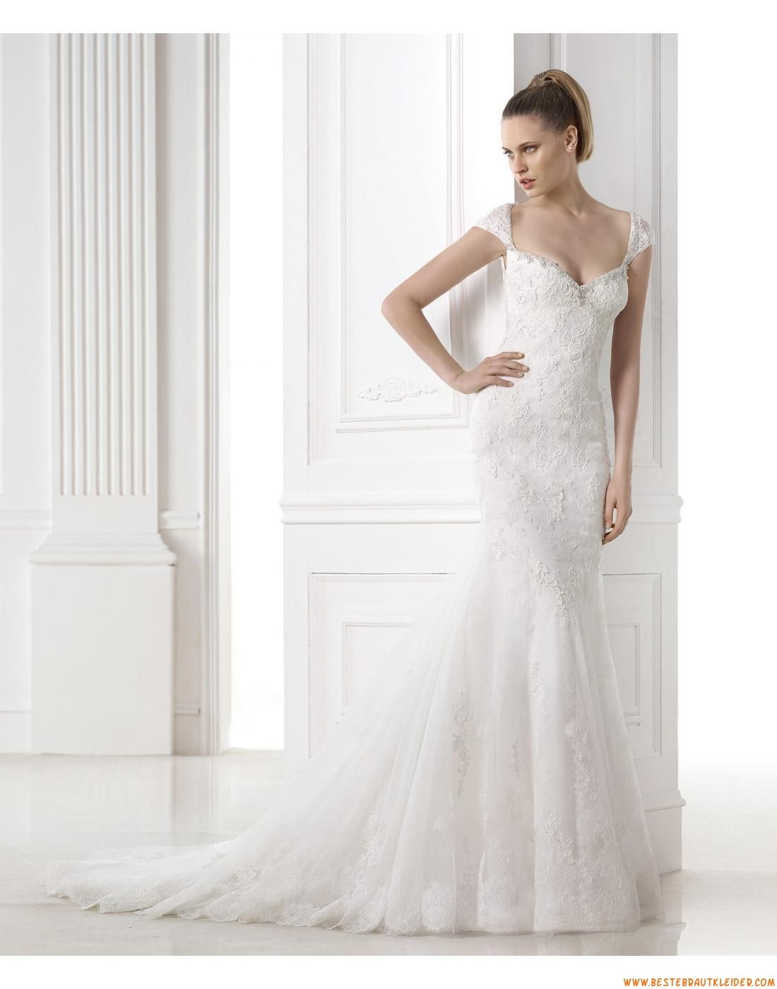 Meerjungfrau Exklusive Schöne Brautkleider aus Softnetz mit ...