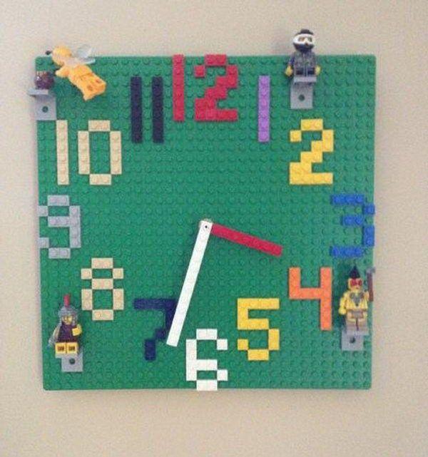images of handmade wall clocks