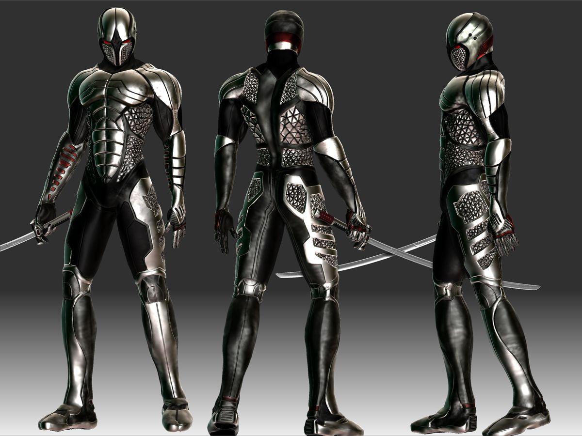 ninja cyborg | Cyborg Ninja set --- 100k - Toribash ...