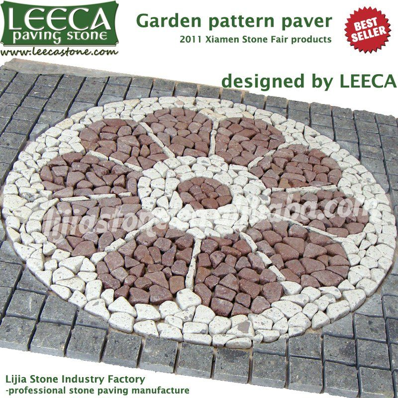 Compass Pavers,outdoor Tile For Driveway,cobblestone Mat In Paving Stone  From Home