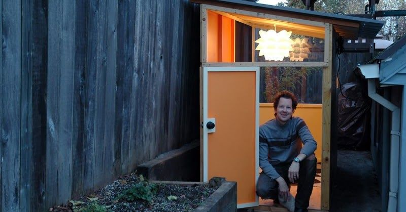 We've been spending time outside in our playhouse lately, and I realized I've never posted pictures of it on this blog. Some of you might h...