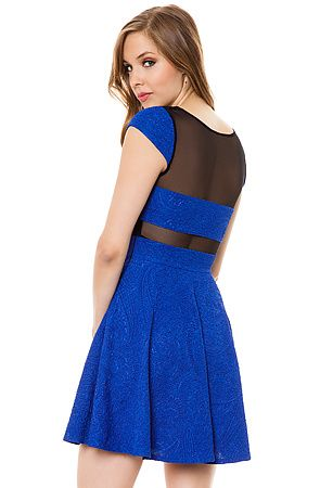 The Bella Ella Dress in Royal by *MKL Collective