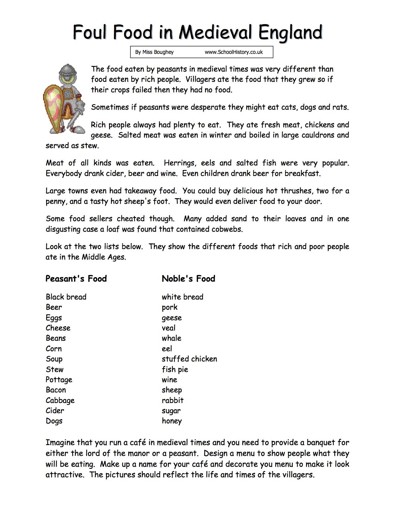History Worksheet Free Printables