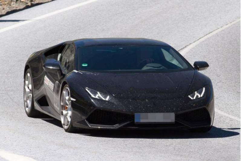 2017 Lamborghini Huracán Superleggera Spy Shots X