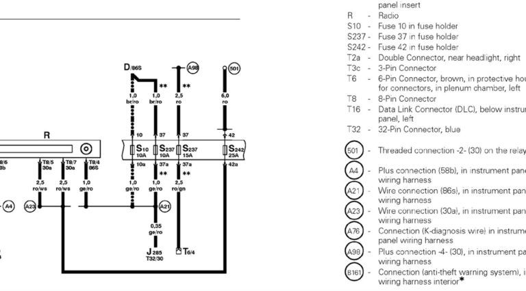 2012 07 06 195454 Radio2 To 2000 Vw Jetta Stereo Wiring Diagram For 2000 Vw Jetta Stereo Wiring Diagram Vw Jetta Vw Passat Diagram