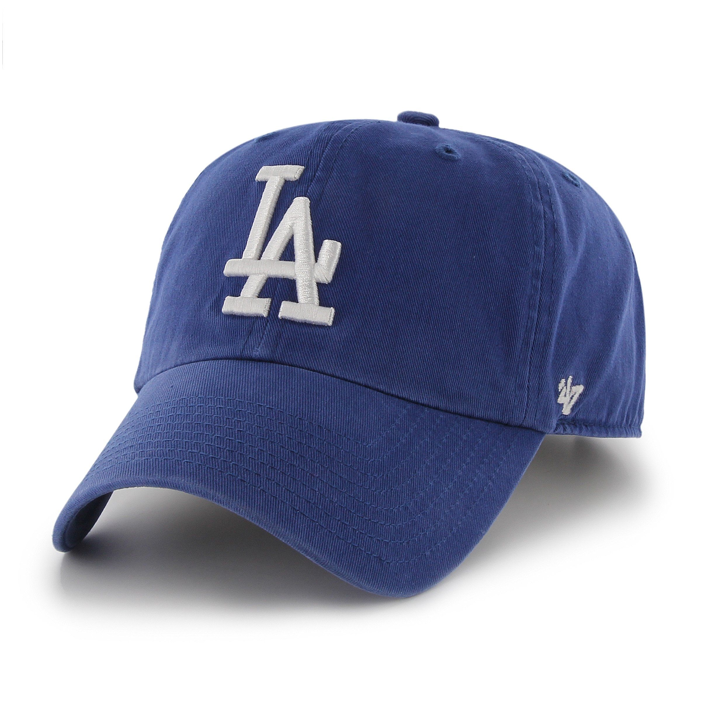 new concept bf438 3f3c3 ... official mlb los angeles dodgers 47 clean up adjustable hat royal one  size 3ba64 c0cef