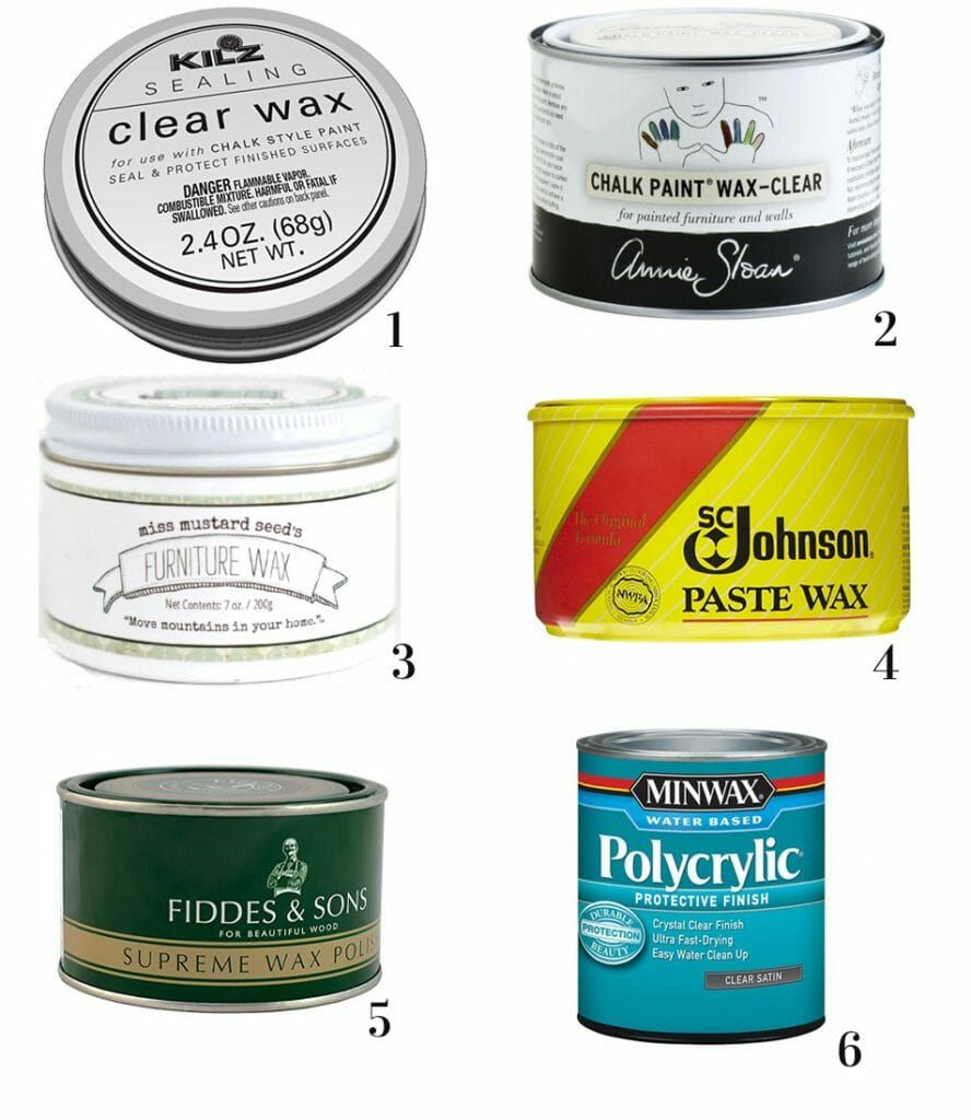 What Are The Best Topcoats Sealers For Painted Furniture Painted Furniture Furniture Wax Chalk Paint Wax