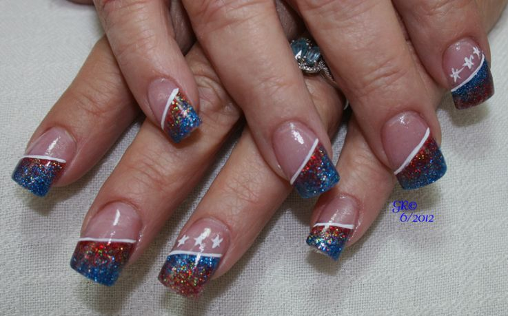4th Of July Nail Designs 4th Of July Independence Day Nail Design