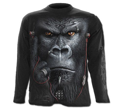 Spiral 'Devolution' Men's Long Sleeve Top sizes M - XXL Rock/Fantasy/Alternative Fashion (L) Spiral Direct,http://www.amazon.co.uk/dp/B00DF3XAS8/ref=cm_sw_r_pi_dp_RJvztb0NNG2TT9P1