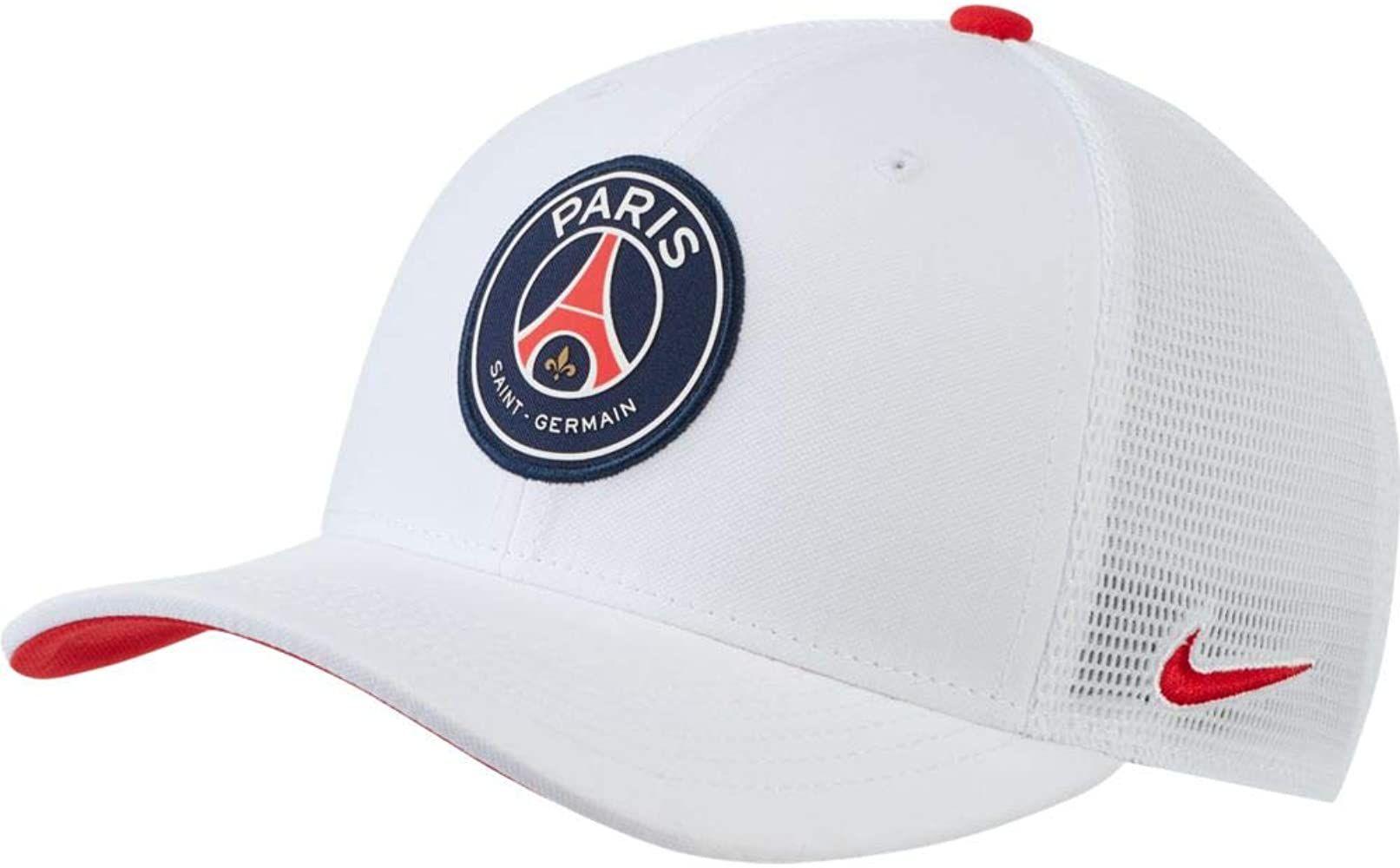 cumpleaños picnic dolor de estómago  Amazon.com: Nike 2020-21 PSG Arobill Classic 99 - Gorra para camioneta,  color blanco: Clothing   Paris saint-germain, Nike classic, Paris saint