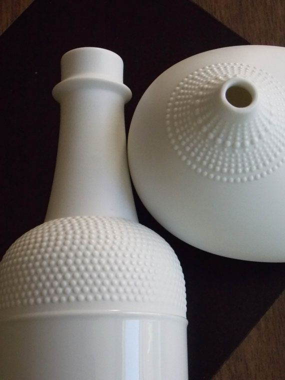 Tapio Wirkkala White Vase Rosenthal Vase Mid Century Modern